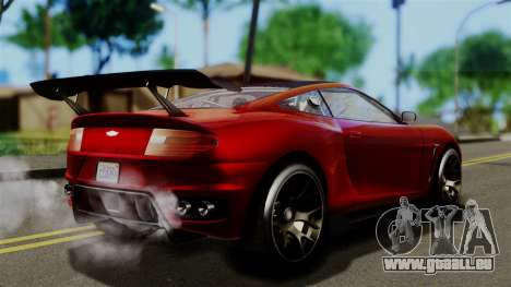 GTA 5 Dewbauchee Massacro Racecar (IVF) pour GTA San Andreas laissé vue