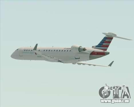 Bombardier CRJ700 American Eagle Airlines für GTA San Andreas Räder