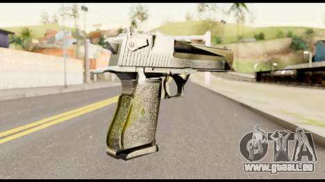 Desert Eagle from Metal Gear Solid für GTA San Andreas zweiten Screenshot
