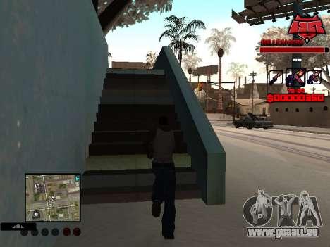 C-HUD Raisers pour GTA San Andreas deuxième écran