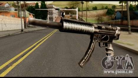 MP5 SD from Max Payne für GTA San Andreas