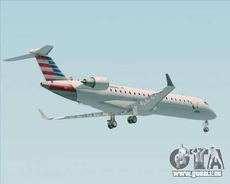 Bombardier CRJ700 American Eagle Airlines für GTA San Andreas Rückansicht