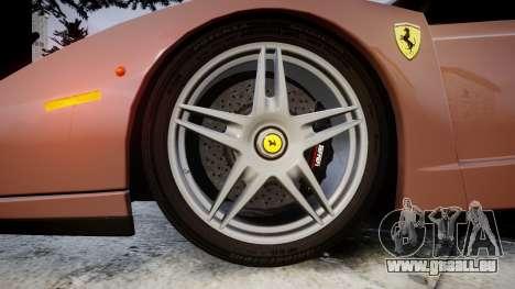 Ferrari Enzo 2002 [EPM] pour GTA 4 Vue arrière