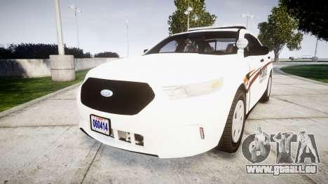 Ford Taurus 2014 Police Interceptor [ELS] für GTA 4
