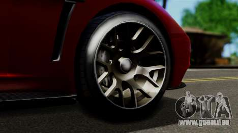 GTA 5 Dewbauchee Massacro Racecar (IVF) pour GTA San Andreas vue de droite