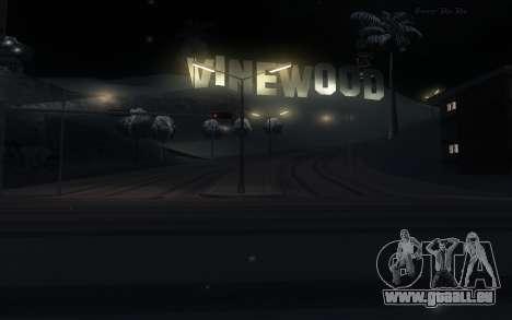 Snow Mod für GTA San Andreas dritten Screenshot