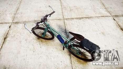 La Police de vélo de montagne [ELS] pour GTA 4 Vue arrière de la gauche