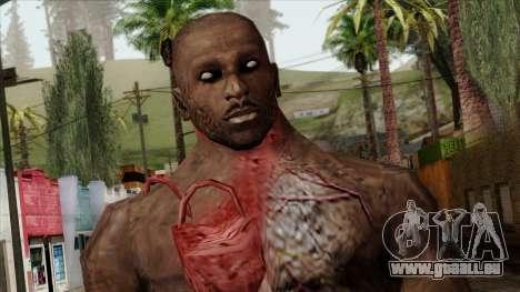 Resident Evil Skin 10 pour GTA San Andreas troisième écran