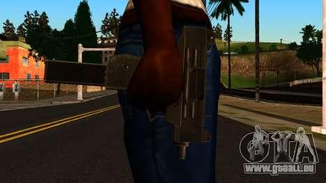 Micro SMG from GTA 4 pour GTA San Andreas troisième écran