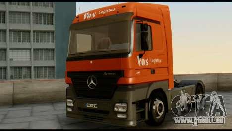 Mercedes-Benz Actros PJ1 pour GTA San Andreas