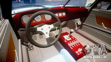 BMW 3.0 CSL Group4 [93] für GTA 4 Innenansicht