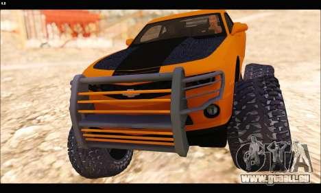 Chevrolet Camaro SUV Concept pour GTA San Andreas laissé vue