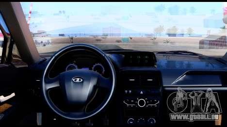 Lada Priora 2 für GTA San Andreas zurück linke Ansicht