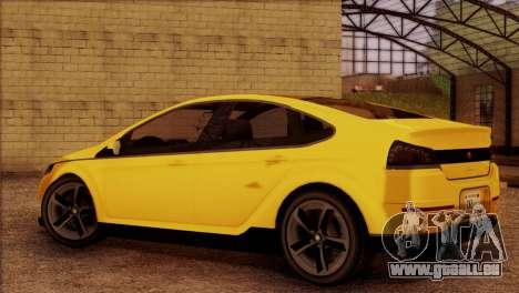 Cheval Surge 1.1 (IVF) pour GTA San Andreas laissé vue