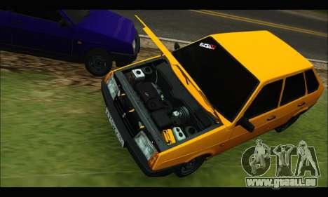 VAZ 2109 BPAN pour GTA San Andreas laissé vue