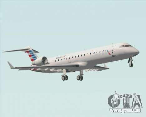 Bombardier CRJ700 American Eagle Airlines pour GTA San Andreas vue de dessous