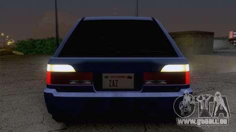 GTA V Ingot pour GTA San Andreas vue arrière