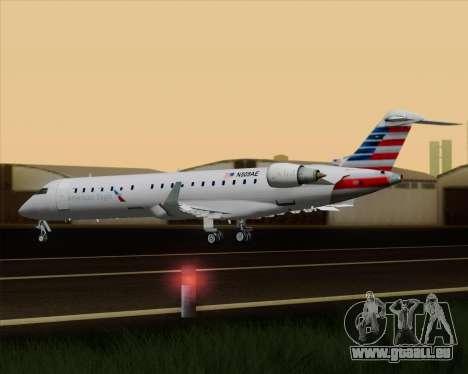 Bombardier CRJ700 American Eagle Airlines pour GTA San Andreas salon