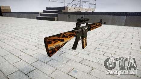 Le M16A2 fusil [optique] tigre pour GTA 4 secondes d'écran