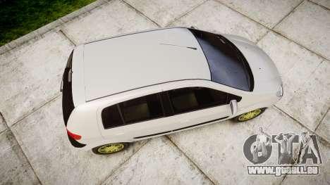 Hyundai Getz 2006 pour GTA 4 est un droit