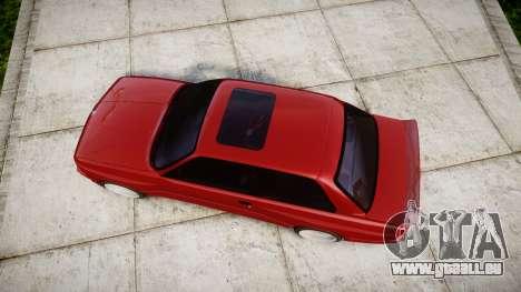 BMW E30 M3 für GTA 4 rechte Ansicht