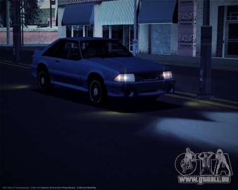 ENBSeries pour les faibles et moyennes PC pour GTA San Andreas deuxième écran