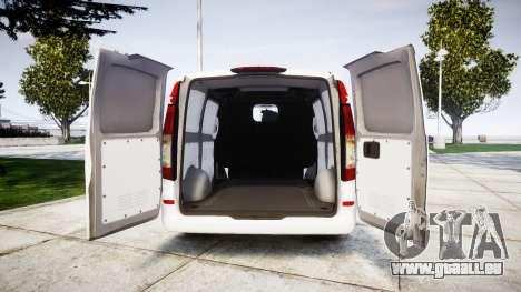 Mercedes-Benz Vito GIGN [ELS] pour GTA 4 Vue arrière