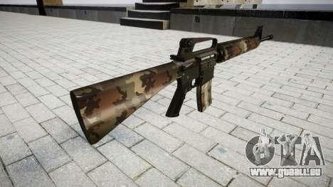 Le M16A2 fusil erdl pour GTA 4 secondes d'écran