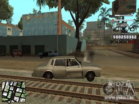 Nice C-HUD für GTA San Andreas her Screenshot