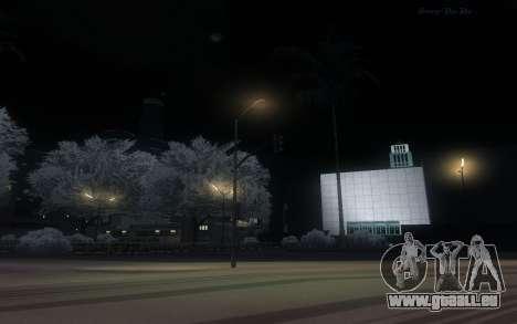 Snow Mod pour GTA San Andreas quatrième écran