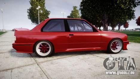BMW E30 M3 pour GTA 4 est une gauche