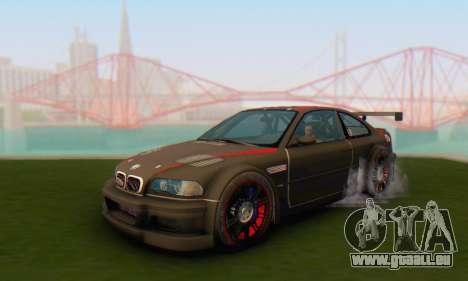 BMW M3 GTR für GTA San Andreas