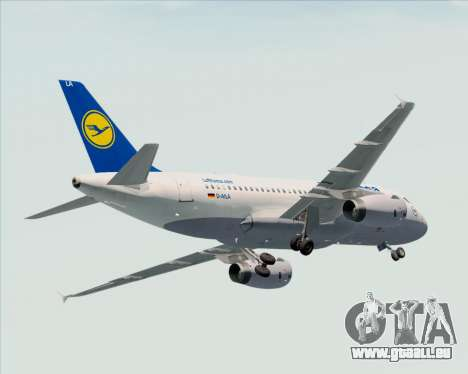 Airbus A319-100 Lufthansa pour GTA San Andreas roue