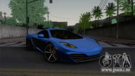 McLaren MP4-12C Gawai v1.5 HQ interior für GTA San Andreas