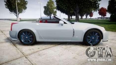 Cadillac XLR-V 2009 pour GTA 4 est une gauche