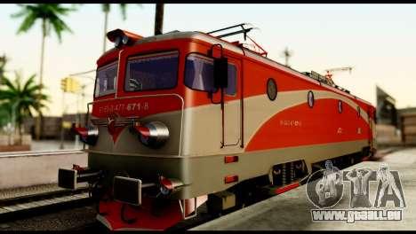 Le 6600kw Delfin pour GTA San Andreas laissé vue