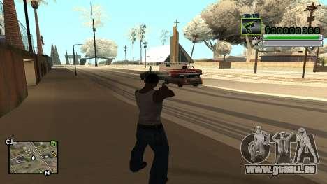 C-HUD v5.0 pour GTA San Andreas troisième écran