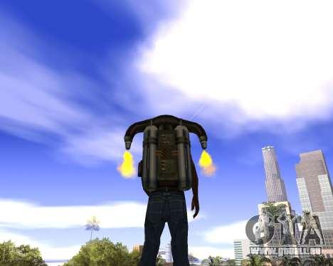 Réaliste ciel (Sky Mod) pour GTA San Andreas deuxième écran