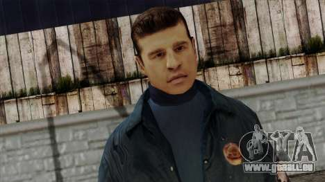 Police Skin 9 pour GTA San Andreas troisième écran