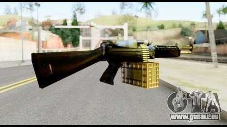 M63 from Metal Gear Solid für GTA San Andreas zweiten Screenshot