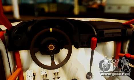 BMW M3 E36 Darnitsa Bandits pour GTA San Andreas vue intérieure