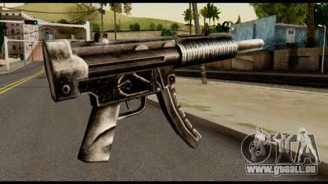 MP5 SD from Max Payne für GTA San Andreas zweiten Screenshot