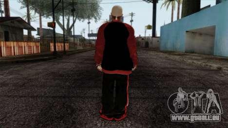 GTA 4 Skin 32 pour GTA San Andreas deuxième écran