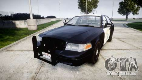 Ford Crown Victoria Highway Patrol [ELS] Slickto pour GTA 4