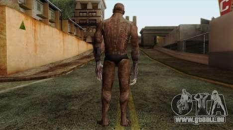 Resident Evil Skin 10 pour GTA San Andreas deuxième écran