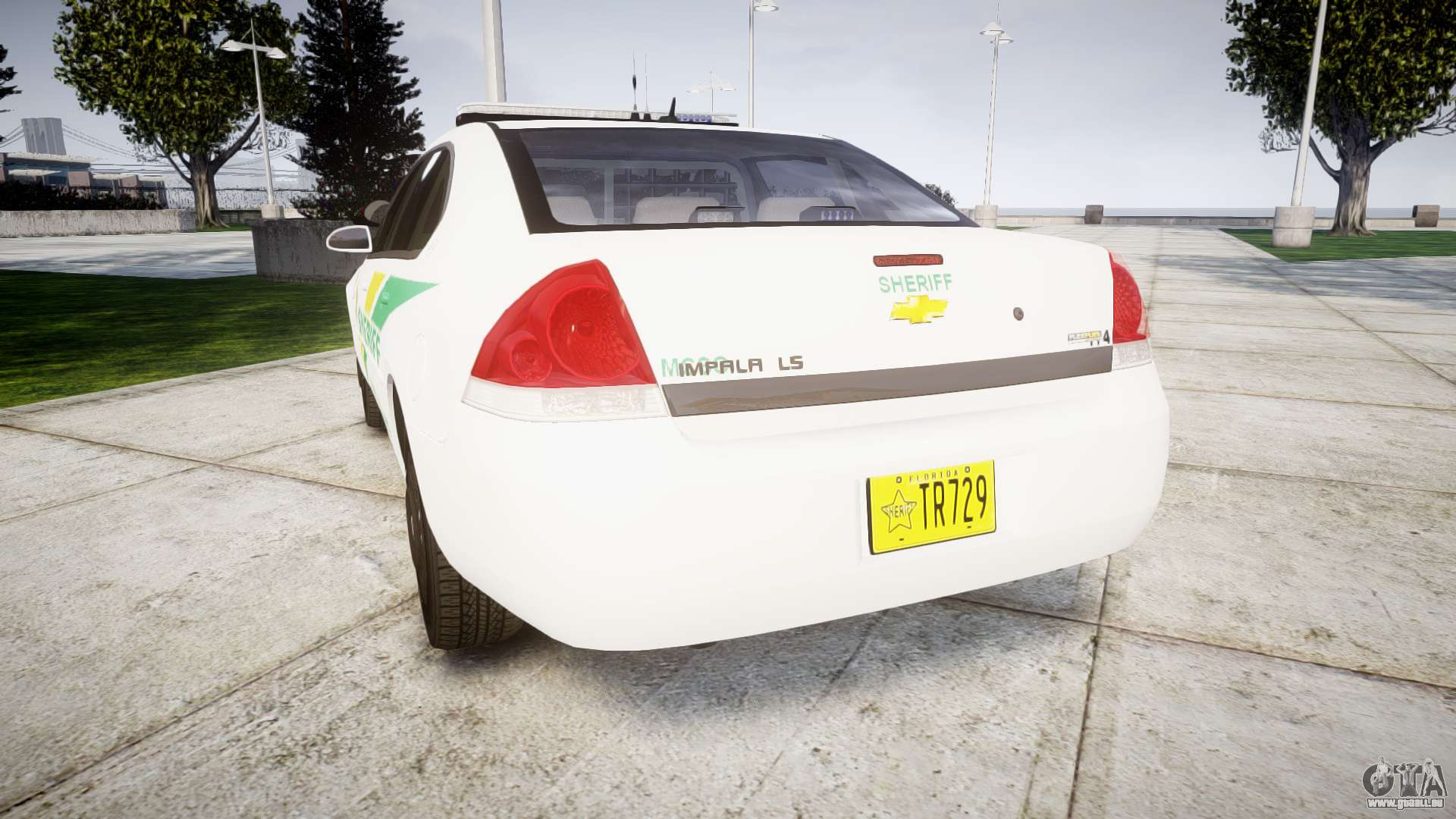 Chevrolet Impala Martin County Sheriff Els Pour Gta 4
