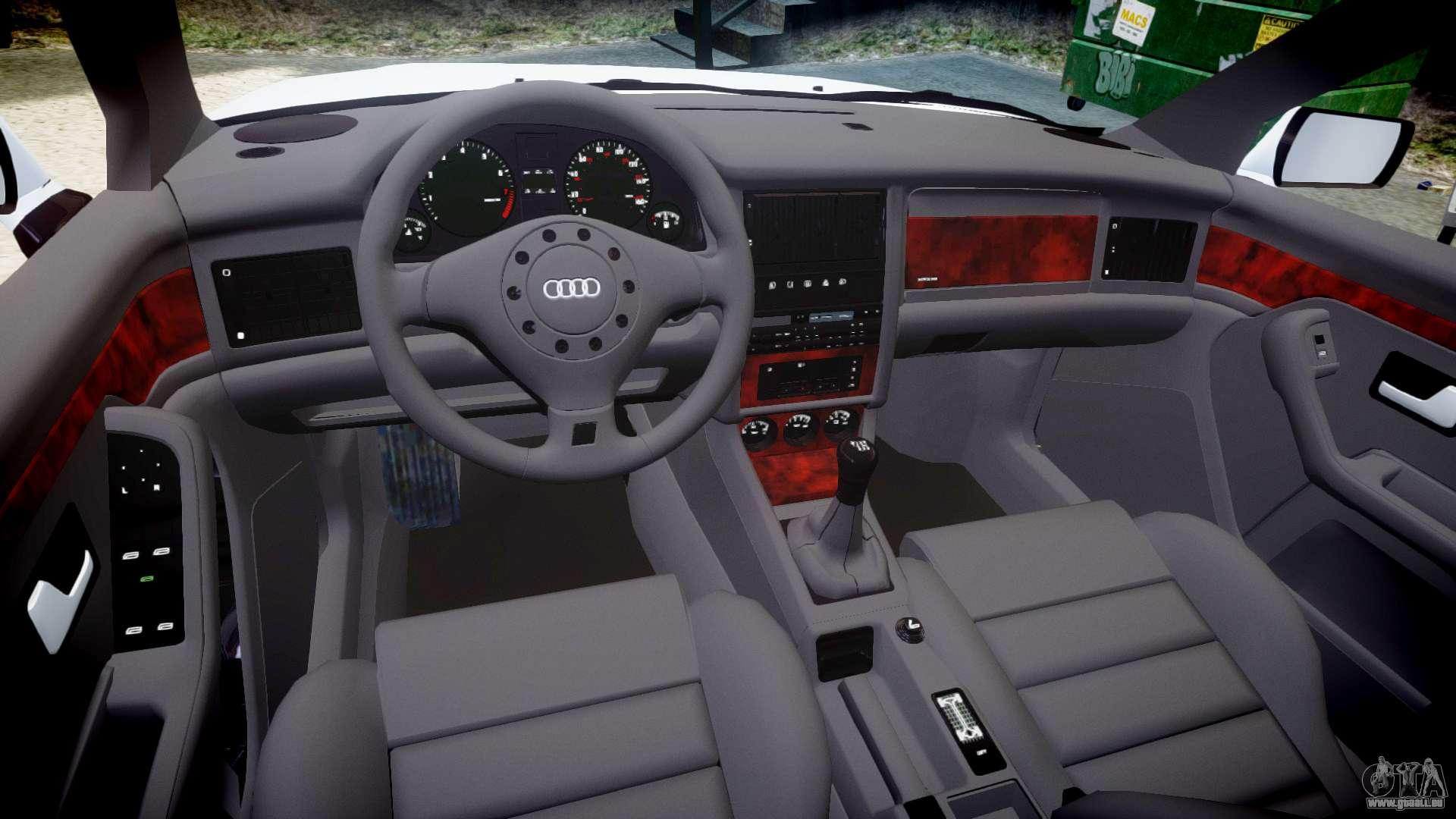 Audi 80 cabrio euro tail lights pour gta 4 for Audi 80 interieur