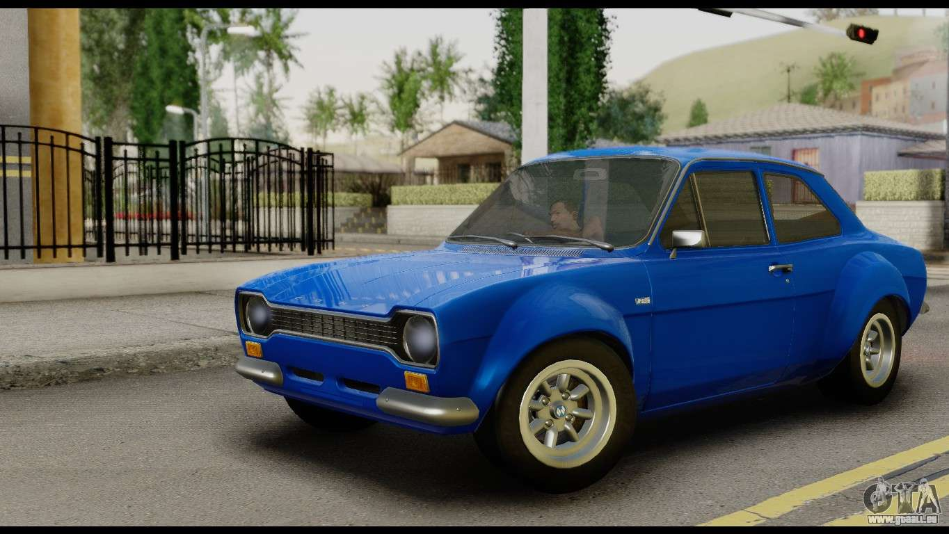 ford escort mark 1 1970 pour gta san andreas. Black Bedroom Furniture Sets. Home Design Ideas