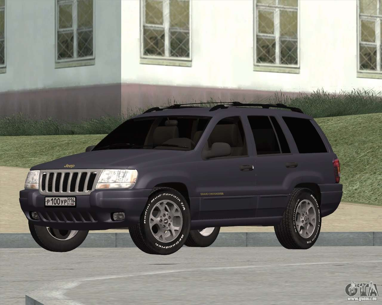 jeep grand cherokee wj pour gta san andreas. Black Bedroom Furniture Sets. Home Design Ideas