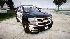 Chevrolet Tahoe 2015 County Sheriff [ELS] pour GTA 4